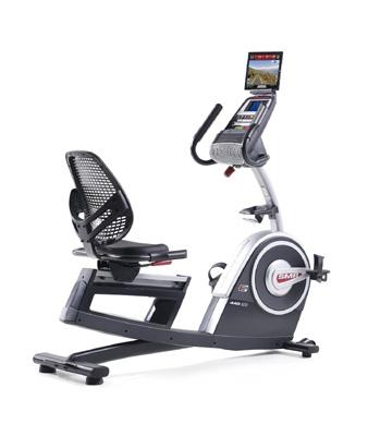 commercial grade recumbent exercise bike