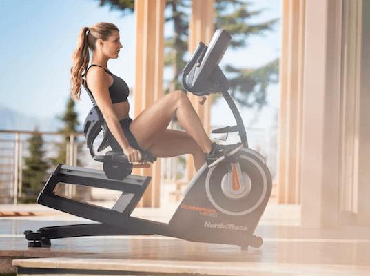 recumbent bike exercise program